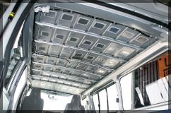 天井&エンジンまわり防音断熱処理