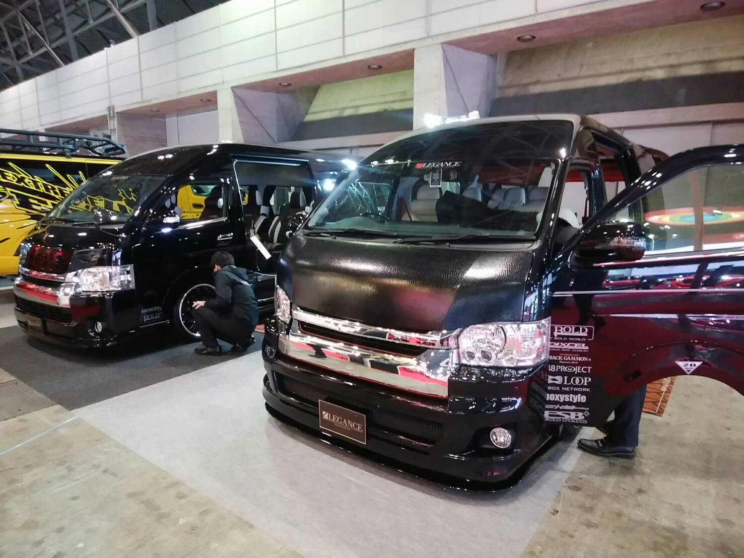 東京オートサロンレガンスさんデモカー