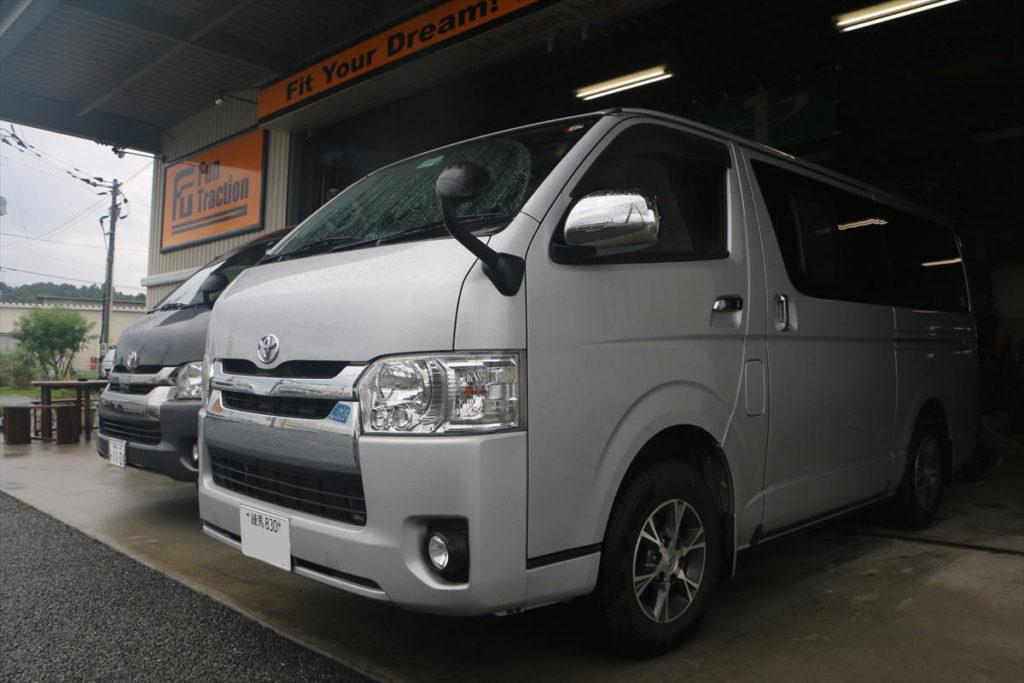 東京からハイエース車中泊の旅