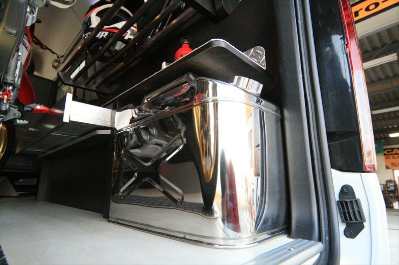 スイングトレーモトボックス バイク 積載 トランポ