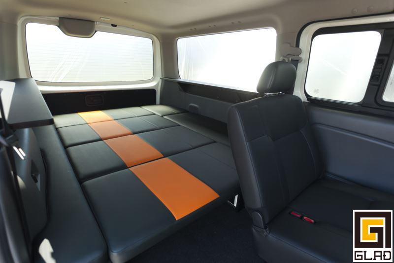 NV350キャラバン キャンプや車中泊 お仕事にも GLAD Gブロックベッド 通販ベッド