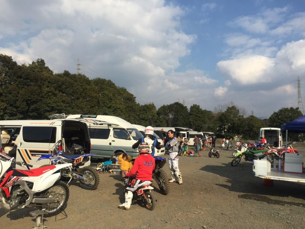 ハイエースSGLにオフロードバイクを積んでHSR九州へ行ってきました!