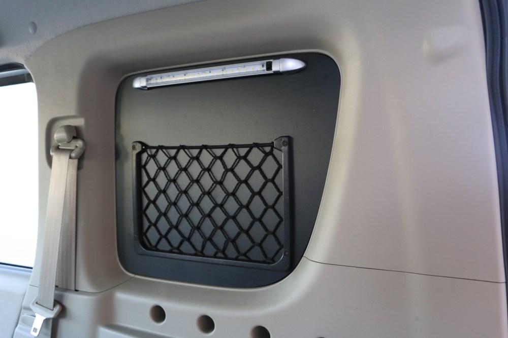 エブリィ窓埋めパネルガラス保護