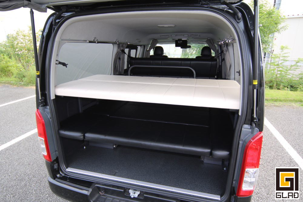 ハイエース 2段ベッド GLAD Gブロックベッドキット 収納