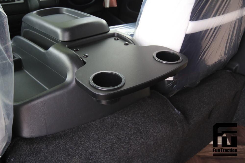 ハイエース テーブル GLADスマートテーブルJr. オフロードバイク積載トランポ 2段ベッド GLADステップベッド搭載 車中泊 キャンプ FUNトラクション