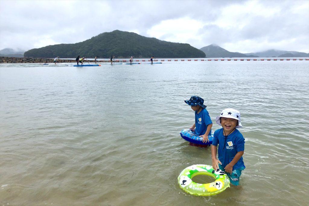 天草Xアスロン海水浴ビーチ