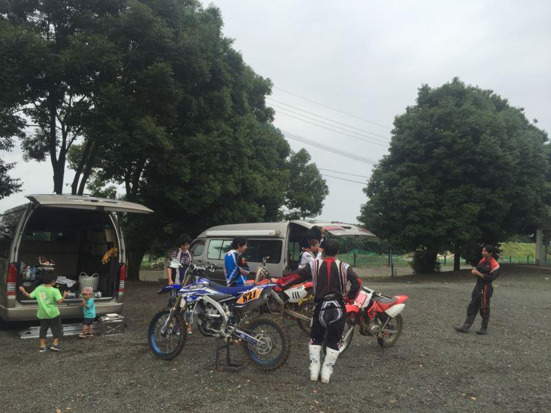 ハイエース特装車 バイクも積めるキャンピングカーにオフロードバイク積載 HSR九州へ行ってきました!
