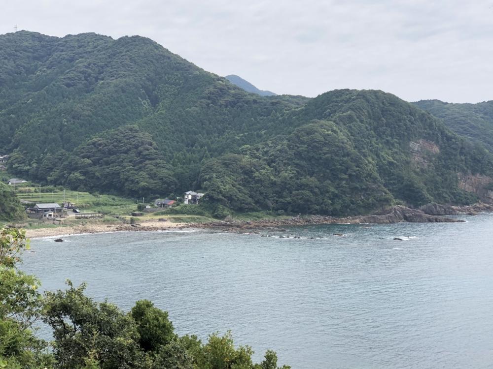 FUNトラクションハイエース車中泊の旅IN熊本天草西海岸 鬼海ヶ浦展望所ブルーガーデン