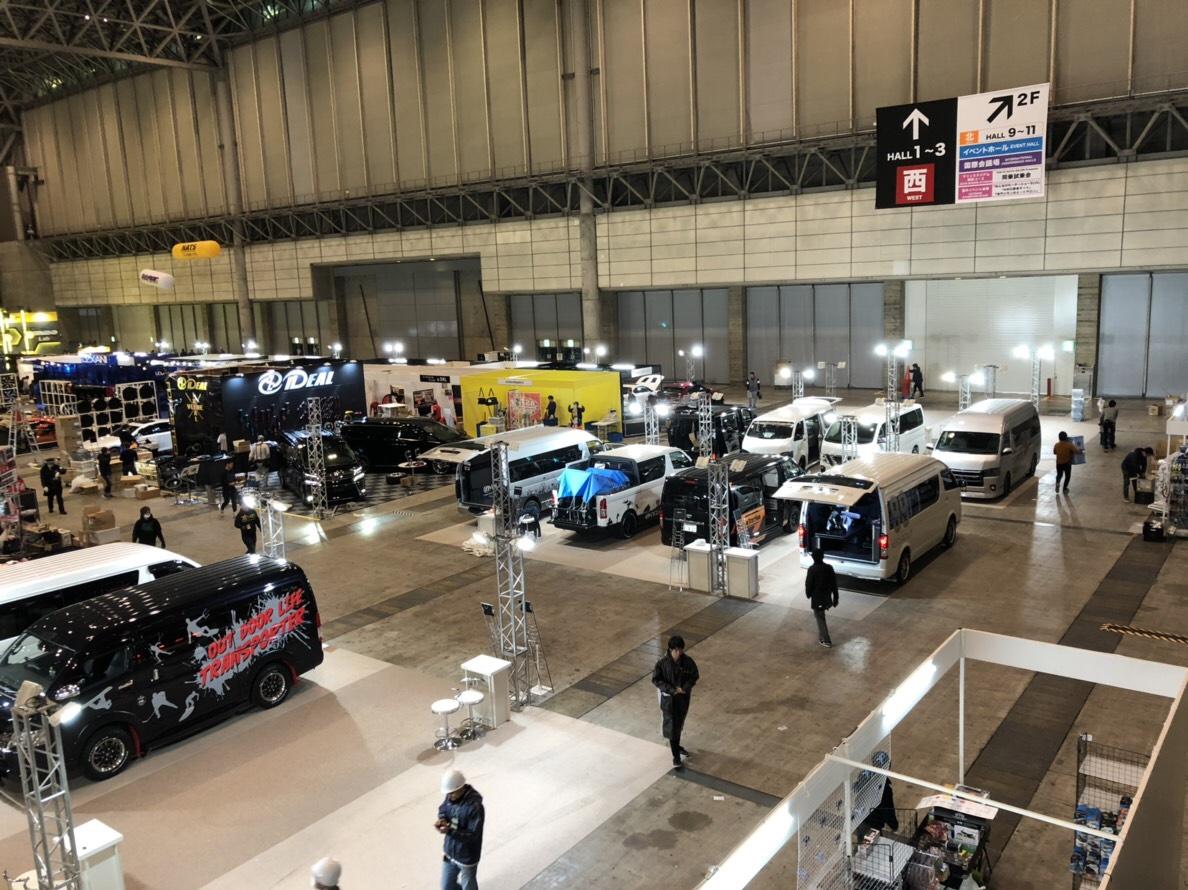 東京オートサロンGLADデモカー出展